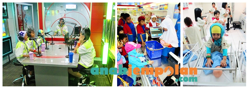 Pretend Play & Learn about Life Skills at Kidzania Jakarta