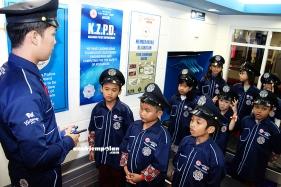 Police Station Cap Kaki Tiga (13)