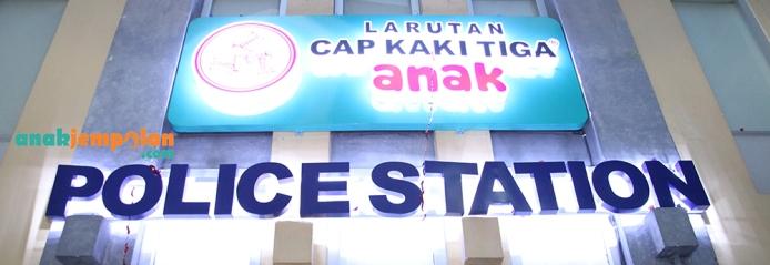 Police Station Cap Kaki Tiga (2)